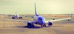 Flugzeug Take off